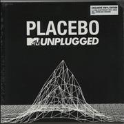 Placebo MTV Unplugged - 180gm UK 2-LP vinyl set