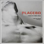 Placebo Once More With Feeling UK poster Promo