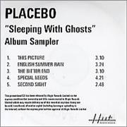 Click here for more info about 'Placebo - Sleeping With Ghosts - Album Sampler'