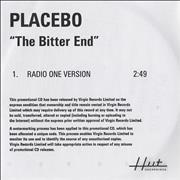 Click here for more info about 'Placebo - The Bitter End'