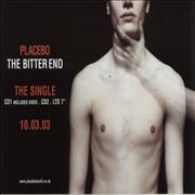 Placebo The Bitter End UK poster Promo