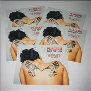 Click here for more info about 'Placebo - This Picture - 5 Instore Display Flats'