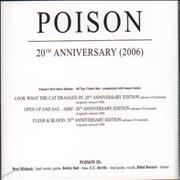 Click here for more info about 'Poison - 20th Anniversary Collection'