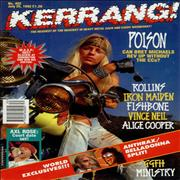 Click here for more info about 'Kerrang! Magazine - Kerrang! Magazine - Jul 92'
