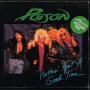 Click here for more info about 'Poison - Nothin' But A Good Time - Postcard Pack'