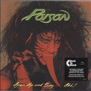 Click here for more info about 'Poison - Open Up And Say...Ahh! - 180gram Vinyl - Sealed'