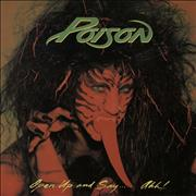 Click here for more info about 'Poison - Open Up And Say...Ahh! - 1st - EX'