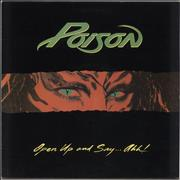 Click here for more info about 'Poison - Open Up And Say...Ahh! - 2nd'