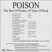 Click here for more info about 'Poison - The Best Of Poison: 20 Years Of Rock'