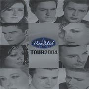 Pop Idol Pop Idol Tour 2004 UK tour programme