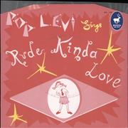 Click here for more info about 'Pop Levi - Rude Kinda Love - Pink Vinyl'