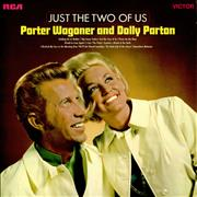 Porter Wagoner & Dolly Parton Just The Two Of Us UK vinyl LP