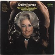 Porter Wagoner & Dolly Parton My Favorite Songwriter, Porter Wagoner USA vinyl LP