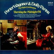Porter Wagoner & Dolly Parton The Right Combination/Burning The Midnight Oil UK vinyl LP
