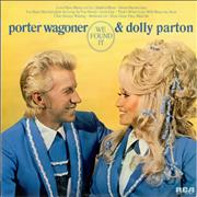 Porter Wagoner & Dolly Parton We Found It UK vinyl LP