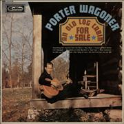 Porter Wagoner An Old Log Cabin For Sale UK vinyl LP