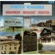 Porter Wagoner Highway Headin' South USA vinyl LP