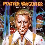 Porter Wagoner Porter's Hits USA vinyl LP