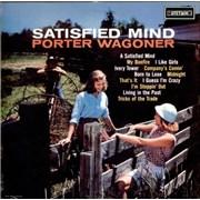 Porter Wagoner Satisfied Mind UK vinyl LP