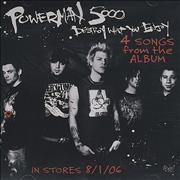 Click here for more info about 'Powerman 5000 - Destroy What You Enjoy - 4 Songs From The Album'
