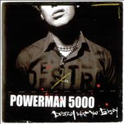 Click here for more info about 'Powerman 5000 - Destroy What You Enjoy - Autographed'