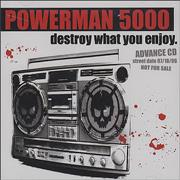 Click here for more info about 'Powerman 5000 - Destroy What You Enjoy'