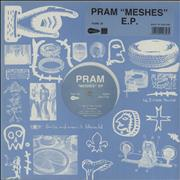 Click here for more info about 'Pram - Meshes EP - Blue Vinyl'