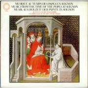 Florilegium De Paris Music from the time of the Popes at Avignon UK vinyl LP