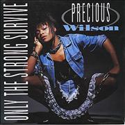 Click here for more info about 'Precious Wilson - Only The Strong Survive'