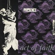 "Presence Act Of Faith UK 7"" vinyl"