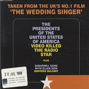 Click here for more info about 'Presidents Of The USA - Video Killed The Radio Star'