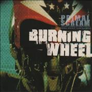 Click here for more info about 'Primal Scream - Burning Wheel'