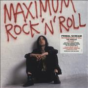 Click here for more info about 'Primal Scream - Maximum Rock 'N' Roll The Singles Volume 1 - 180gm Red & White Vinyl - Sealed'