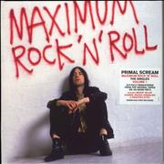 Click here for more info about 'Primal Scream - Maximum Rock 'N' Roll - 180gm Red & White'