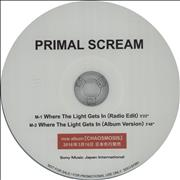 Click here for more info about 'Primal Scream - Where The Light Gets In + PR'