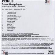 Click here for more info about 'Primus - Green Naugahyde'