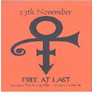 Click here for more info about 'Prince - 13th November Free At Last'