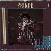 Click here for more info about 'Prince - 1986 Calendar'