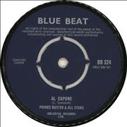 Click here for more info about 'Al Capone - Blue Label Straight Text'