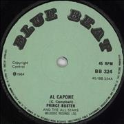 Click here for more info about 'Prince Buster - Al Capone - Green label'