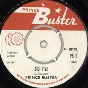 Click here for more info about 'Prince Buster - Big Five - 1st - 4pr'