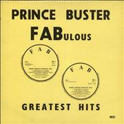 Click here for more info about 'Prince Buster - FABulous Greatest Hits - blue label'