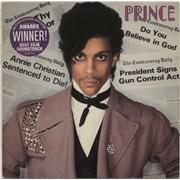 Prince Controversy + Insert + Sticker UK vinyl LP