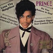Click here for more info about 'Prince - Controversy + Poster - Gold Promo Stamped'