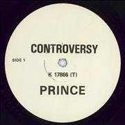 Click here for more info about 'Prince - Controversy - White Label'