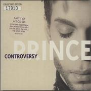 Prince Controversy Part 1 & 2 UK 2-CD single set