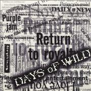 Click here for more info about 'Days Of Wild'