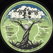 Click here for more info about 'Prince Far I - Heavy Manners'