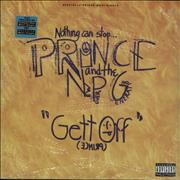 Click here for more info about 'Prince - Gett Off - Sealed'