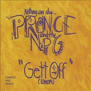 Click here for more info about 'Prince - Gett Off'